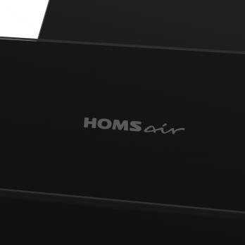 Наклонная вытяжка Homsair Elf 50 Glass Black