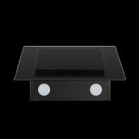 Наклонная вытяжка Homsair Elf 60 Glass Black_2