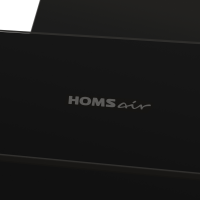 Наклонная вытяжка Homsair Elf 60 Glass Black_12