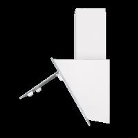 Наклонная вытяжка Homsair Elf Push 50 Glass White_5