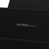 Наклонная вытяжка Homsair Elf Push 50 Glass Black_12