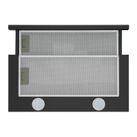 Вытяжка с выдвижным экраном Homsair Flat 60 Black_5