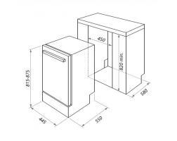 Встраиваемая посудомоечная машина Homsair DW45L_1