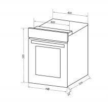 Электрический духовой шкаф Homsair OEF451WH_13