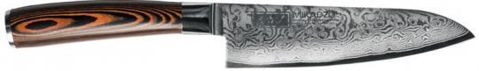 Нож сантоку Mikadzo Damascus Suminagashi
