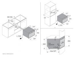Компактный духовой шкаф 5 в 1 Asko OCSM8487S_5