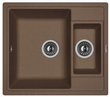 Кухонная мойка Florentina ЛИПСИ 580К мокко